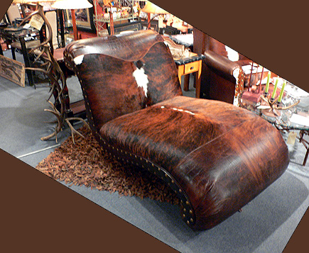 Just your run-of-the-mill, handmade $5,000 chaise lounge in Park City, Utah.  (2006)