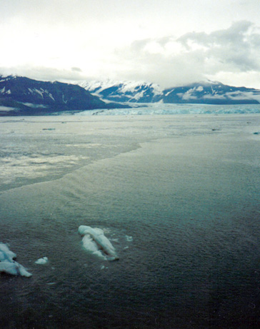 Hubbard Glacier.  Picture taken on our honeymoon.  (1999).