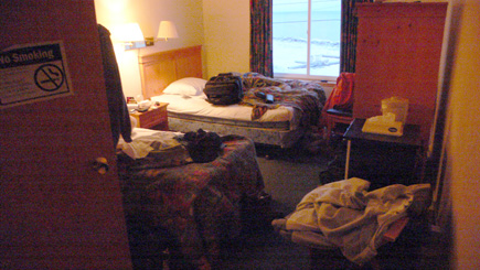Room 230 at the Top of the World in Barrow, Alaska.  (2007)