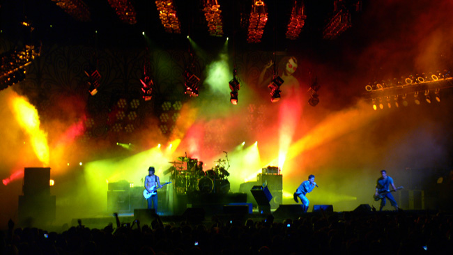 Jane's Addiction performed after Nine Inch Nails at the NIN|JA show in Tampa on May 9th, 2009.  (2009)